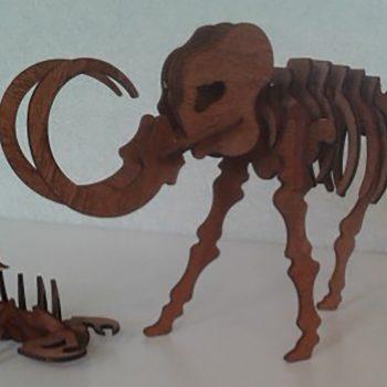 Lasersnijden van houten dieren 9